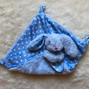 Kellytoy Blue Rattling Bunny Lovey
